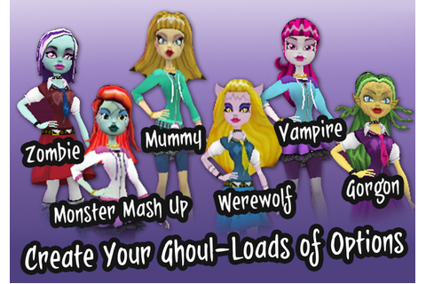 Monster High: Ghoul Spirit Screenshots - Video Game News ...