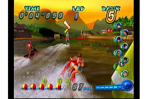 Wave Race: Blue Storm (GCN / GameCube) Screenshots