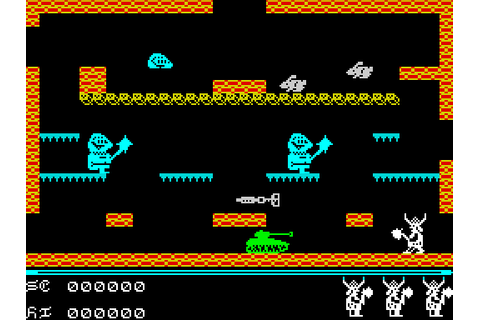 Brian Bloodaxe (1985) by Softek ZX Spectrum game