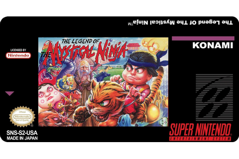 The Legend of the Mystical Ninja Snes Replacement Game ...