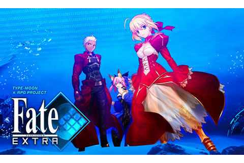 Up late talking games & writing? You're...: Fate/Extra ...
