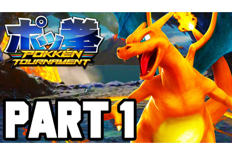 Pokken Tournament Gameplay Walkthrough Part 1 FULL GAME ...