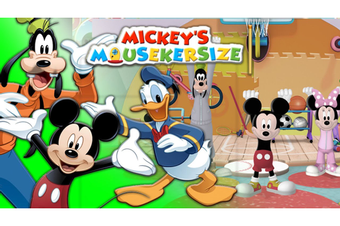 Mickey's Mousekersize | Mickey Mouse online game for kids ...