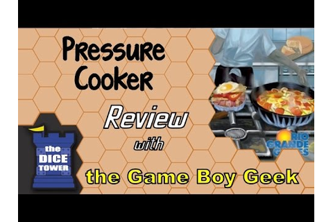 Pressure Cooker Review - with the Game Boy Geek - YouTube