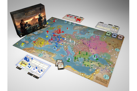 Europa Universalis: The Board Game - Aegir Games