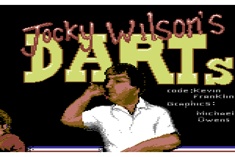 Jocky Wilson's Darts Challenge (1988) by Zeppelin Games ...