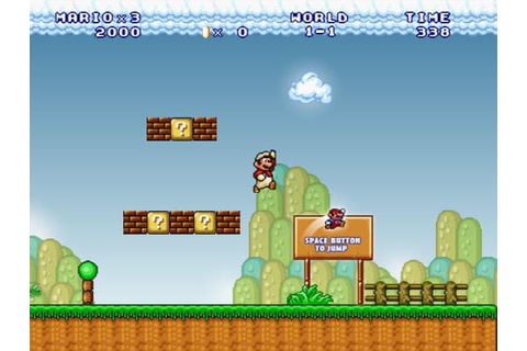 Super Mario 3 Flash | Play FREE Mario Games | Arcader.com