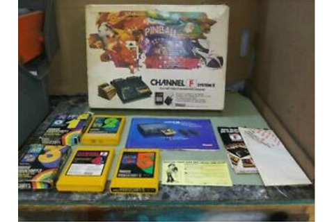 Fairchild Channel F system II in box game Console ...