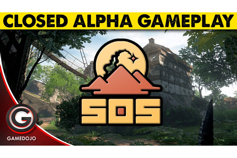 SOS Closed Alpha Gameplay 🔴Outpost Games New Survival Game ...