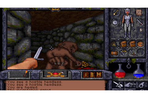 Let's Play Ultima Underworld 2 19: The Listener - YouTube