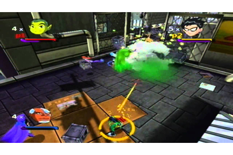 teen titans ps2 iso