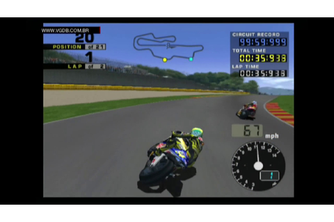 MotoGP 2 (gameplay) - Sony Playstation 2 - VGDB - YouTube