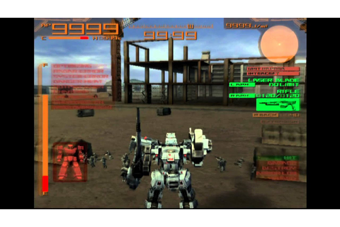 Armored Core Last Raven Gameplay {PS2} {HD 1080p} - YouTube