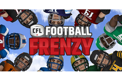 CFL Football Frenzy is now available on the App Store