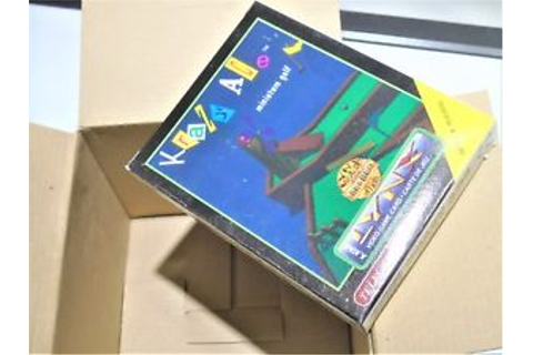 Brand New Atari Lynx Crazy Krazy Ace Mini Golf Atari Lynx ...