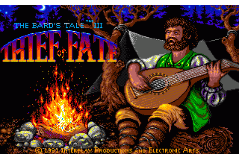 The Bard's Tale III: Thief of Fate (1991) by Interplay ...