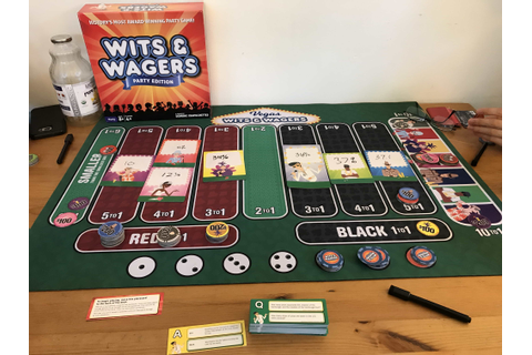 Vegas Wits & Wagers Review - Board Gamers Anonymous