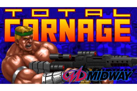 Total Carnage for Arcade from Midway - YouTube