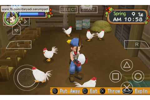 Harvest Moon Hero of Leaf Valley PSP Game Review on ...