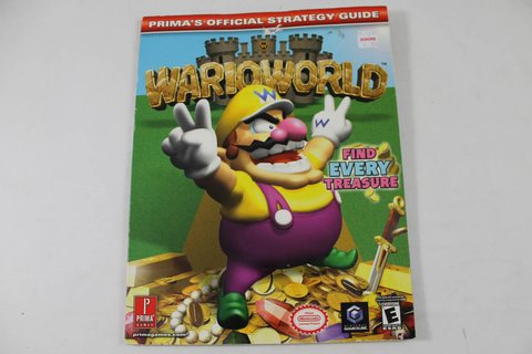 Wario World Official Strategy Guide - Prima