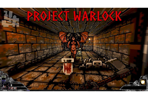 Project Warlock - First Minutes Gameplay - YouTube