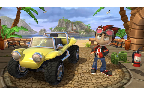 Beach Buggy Racing 2 All Maps All Vehicles All PowerUps ...