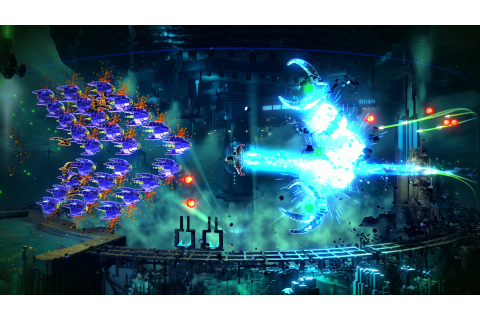 Resogun PS4 uses Sony's GPU to offload the visual grunt ...