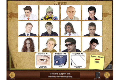 Suspects and Clues download free :: Play Hidden Object Games