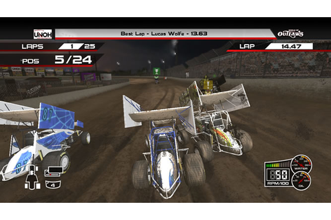 World Of Outlaws Sprint Cars Screenshots and Game Art ...