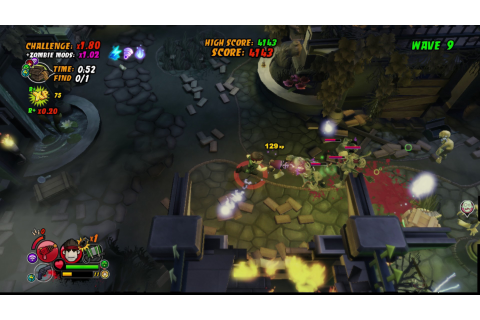 All Zombies Must Die, Xbox 360, X360, Xbox, PS3, PC, Video ...