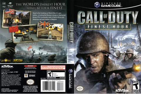 GCOE52 - Call of Duty: Finest Hour