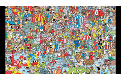 Where Is Waldo? This Is How You Find Him! - YouTube