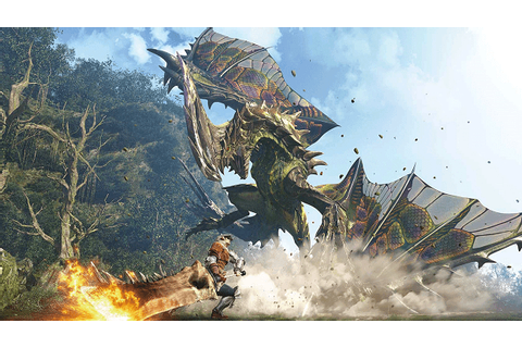 Monster Hunter World Leaked Gameplay Showcases Combat ...