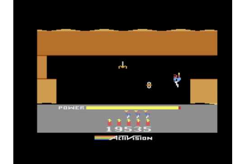 Atari 2600 Game - H.E.R.O. Review - YouTube