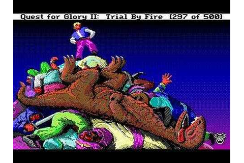 Quest for Glory II: Trial by Fire - YouTube