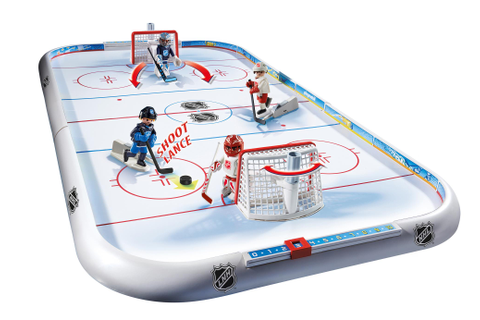 Amazon.com: PLAYMOBIL NHL Hockey Arena: Toys & Games