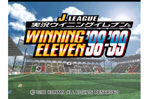 J.League Jikkyou Winning Eleven '98-'99 (1998) by Konami ...