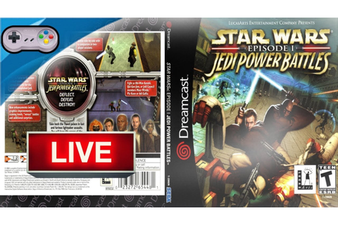 Star Wars: Episode I: Jedi Power Battles game play ...
