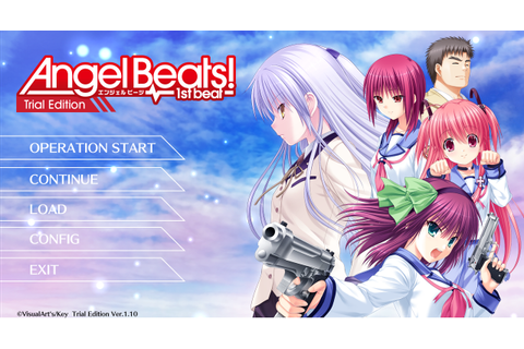 angel beats game