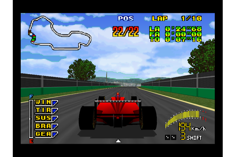 F1 Pole Position 64 Download Game | GameFabrique