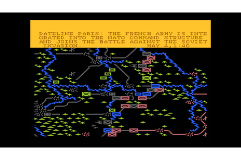 NATO Commander for the Atari 8-bit family - YouTube
