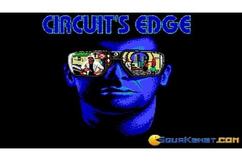 Circuit's edge gameplay (PC Game, 1990) - YouTube