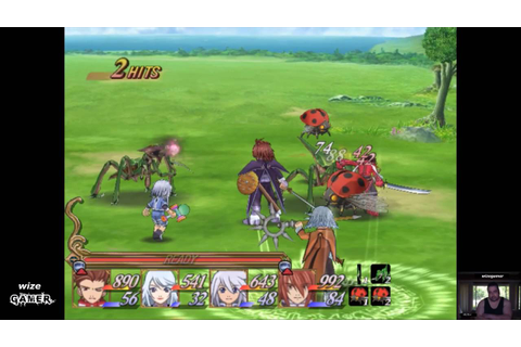 Tales Of Symphonia NGC .. The Battle System Explained ...