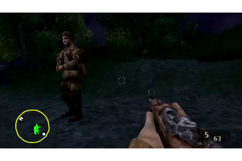 Brothers in Arms: D-Day Gameplay (PSP) - YouTube