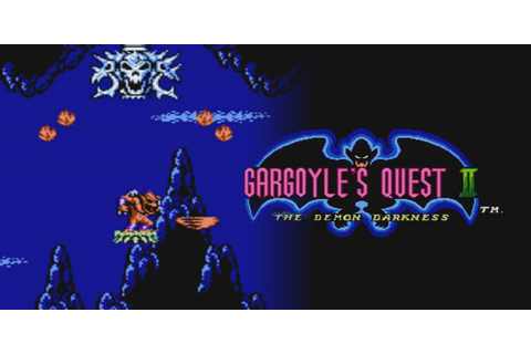 Gargoyle's Quest II: The Demon Darkness | NES | Jeux ...