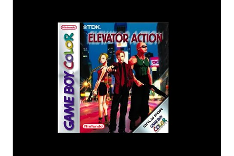 Elevator Action EX (Game Boy Color) - YouTube