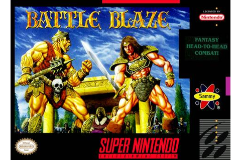 Battle Blaze SNES Super Nintendo