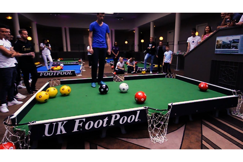 UK Foot Pool Championship 2015 - YouTube