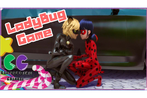 Miraculous Love Story Ladybug and cat Noir game - YouTube