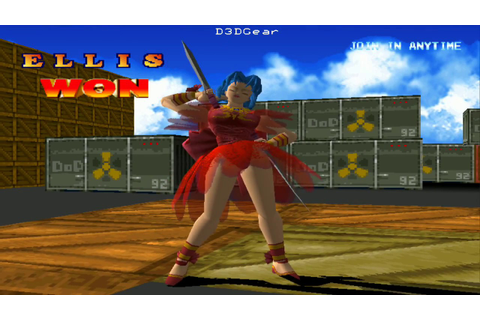 Battle Arena Toshinden 2 (PS1) - 1 Player Game Mode With ...